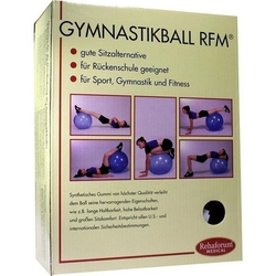 GYMNASTIKBALL Rehaforum 55 cm orange metallic 1 St