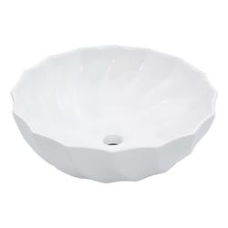 vidaXL Waschbecken vidaXL Waschbecken 46 x 17 cm Keramik Weiß /vidaXL Waschbecken 46 x 17 cm Keramik Weiß weiß