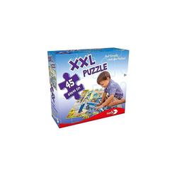 Noris Puzzle XXL Puzzle, 45 Teile, 64x44 cm, Auf Streife mit, Puzzleteile