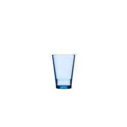 Mepal Becher Kunststoff Becher Kunststoffglas Flow (1-tlg), Kunststoff blau