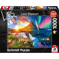 Island Night and Day Puzzle 1.000 Teile