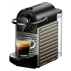 Krups Kapselmaschine XN304T Nespresso Pixie - Kapsel Automat - titan