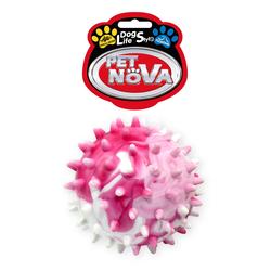 Hundespielzeug Kauspielzeug STARBALL-L Igellball schwimmend Vanille Aroma 6,5cm Mehrfarben