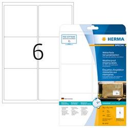 150 HERMA Folien-Versandetiketten 8332 weiß