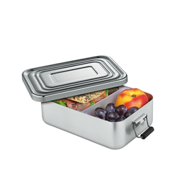 KÜCHENPROFI Lunchbox Lunch Box 18 x 12 x 5 cm silber