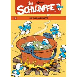 Die Schlümpfe 10. Die Schlumpfsuppe als Buch von Y. Delporte/ Peyo
