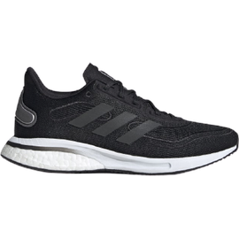 adidas Supernova W core black/grey six/silver metallic 42