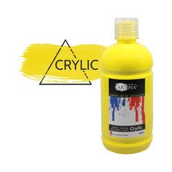 Acrylfarbe 500 ml Zitronengelb - Artina