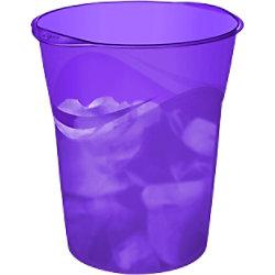 CEP Papierkorb Happy Violett 14L Polypropylen 30,5 x 29 x 33,4 cm