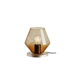 Briloner Tischleuchte 7012-017 in amber