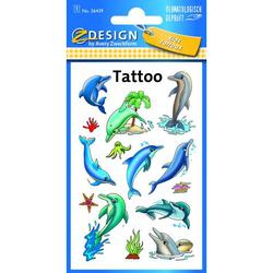 Zweckform 56439 Delfine Tattoo Delfine fbg.