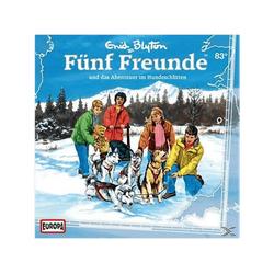 Fünf Freunde 83: ...und das Abenteuer im Hundeschlitten - (CD)