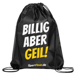 """Sportspar.de """"billig aber geil"""" Turnbeutel - Größe:Einheitsgröße"""