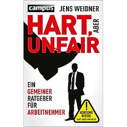 Hart  aber unfair. Jens Weidner  - Buch