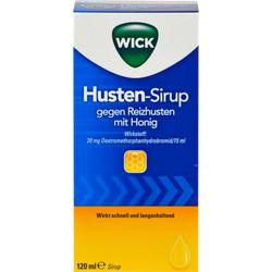 WICK Husten Sirup gg.Reizhusten m.Honig 120 ml