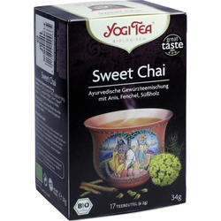 YOGI TEA SWEET CHAI BIO