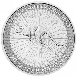 1 Unze Silber Känguru 2020 (zollfrei)