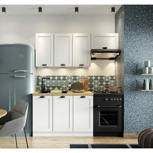 Küchenmöbel Adelaro II Einbauküche Küchenzeile Küchenblock Schrank Küche-Set M24