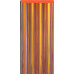 Türvorhang Fadenvorhang Finca Türvorhang Dekovorhang bunt Fliegenvorhang Raumteiler Vorhang, CONACORD, hohe Fadenanzahl