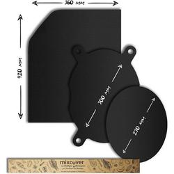 Mixcover Backform Mixcover Dauerbackfolien-Set für Varoma-Einlegeboden + Backofen, (3-tlg), TM6, TM5 und TM31