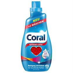 Coral Optimal Color Flüssigwaschmittel 1,1 L 22 WL