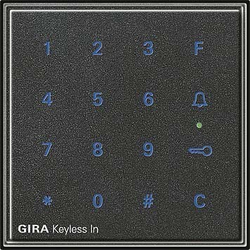 Gira Code Tastatur anth Keyless In 260567