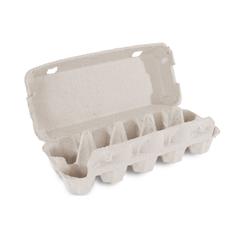 Eierverpackung für 10 Eier, uni weiß, 154 Stk., für S, M, L