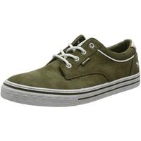 MUSTANG Herren 4147-307-77 Sneaker, Oliv, 45 EU