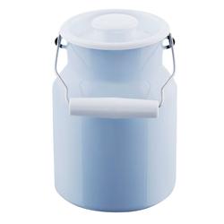 Riess Milchkanne Milchkanne mit Deckel 1,5 Liter Classic Color, 1.5 l, Milchkanne