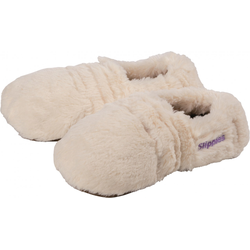 Warmies Slippies Deluxe creme Plush creme, Größe 36 - 40