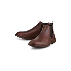 Chelsea Boots Chelsea-Boots COX dunkelbraun