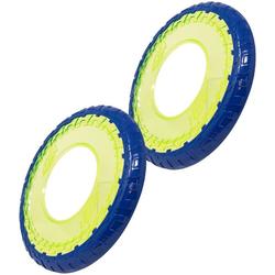 Nerf Dog Outdoor-Spielzeug Flyer, Gummi, (2-tlg) 25 cm