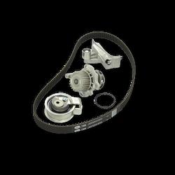 AIRTEX Wasserpumpe + Zahnriemensatz VW,AUDI,FORD WPK-199801 Wasserpumpe + Zahnriemenkit
