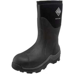 Muck Boots Unisex Arctic Sport Mid Gummistiefel, Schwarz (Black/Black), 49 EU