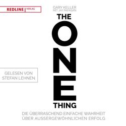 The One Thing als Hörbuch CD von Gary Keller/ Jay Papasan
