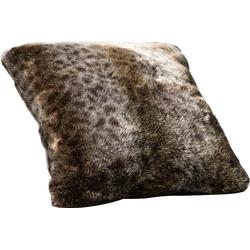 Star Home Textil Dekokissen Luchs, besonders weich, hochwertig grau