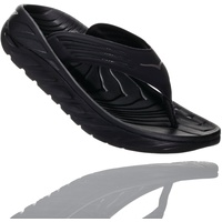 Hoka One One Ora Recovery Flips Herren black/dark gull gray US 9 | EU 42 2/3 2021 Regenerations-Schuhe