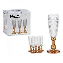 Glas Vivalto Durchsichtig (7 x 20 x 7 cm)