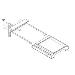 PROXXON 28070-30 Bolzen Tischverbreiterung für Feinschnitt-Tischkreissäge FKS/E