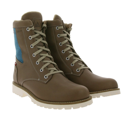 Dachstein DACHSTEIN Frieda Winter-Boots hohe Wander-Stiefel für Damen mit Woll-Anteil Outdoor-Stiefel Braun Wanderstiefel