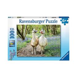 Ravensburger Puzzle XXL-Puzzle Flauschige Freundschaft, 100 Teile, Puzzleteile