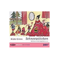 Schneewittchen  1 Audio-CD - Hörbuch