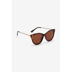 Next Sonnenbrille Polarisierte Cat-Eye-Sonnenbrille braun