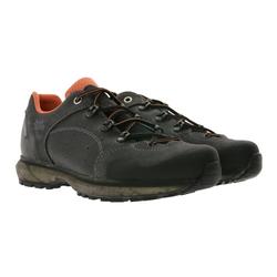 Hanwag hanwag Saldana Low Top-Schuhe bequeme Damen Wanderschuhe Outdoor-Schuhe aus Echtleder Grau Wanderschuh 40 1/2