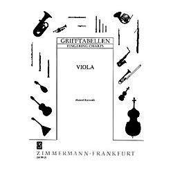 Grifftabelle für Viola - Buch