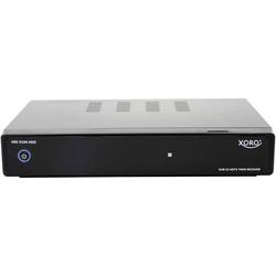 Xoro HRS 9194 SAT-Receiver Aufnahmefunktion, mit Festplatte, Twin Tuner Anzahl Tuner: 2