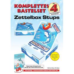 Bastelset Zettelbox Stups