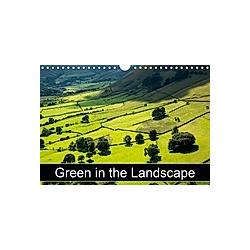 Green in the Landscape (Wall Calendar 2021 DIN A4 Landscape)
