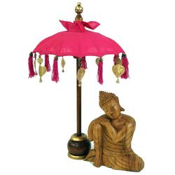 Guru-Shop Dekoobjekt Zeremonienschirm, asiatischer Dekoschirm -.. 40 cm x 68 cm