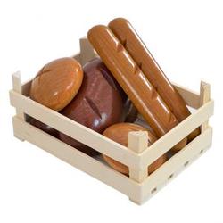 Holzsteige mit Brot